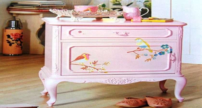 Purple Dining Room Ideas Shabby Chic Hand Painted
