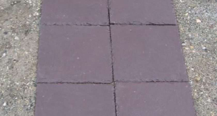 Purple Slate Tiles Tile Design Ideas