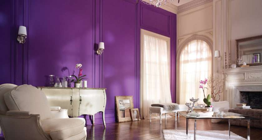 Purple Wall Paint Variants Homesfeed