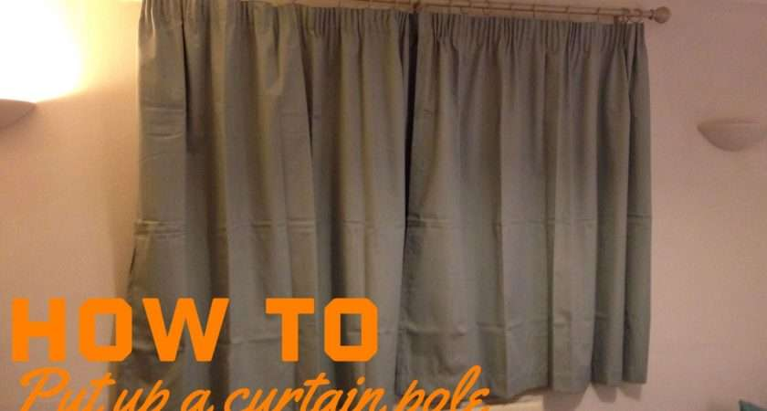 Put Curtain Pole