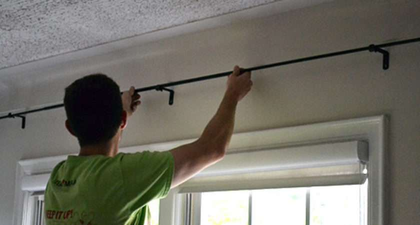 Put Curtain Rods Home Honoroak
