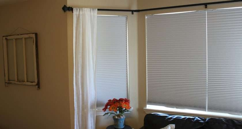 Put Curtains Bay Window Curtain
