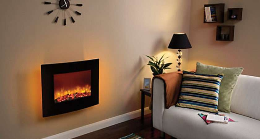 Quattro Wall Hung Electric Fire Wickes