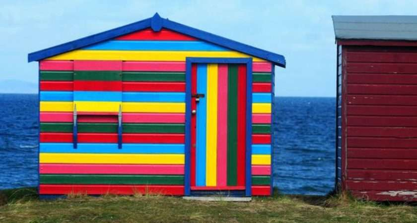 Quirky Seaside Sheds Daily Record