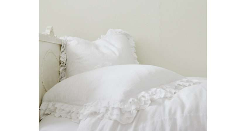 Rachel Ashwell Shabby Chic Couture Petticoat White Bedding Collection