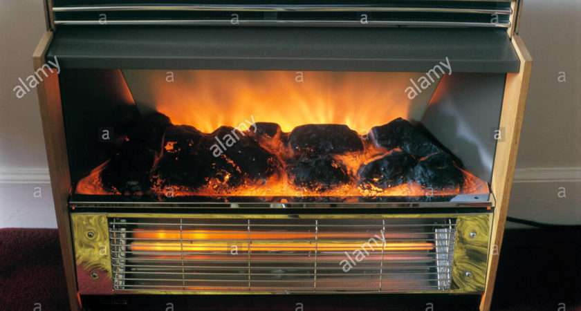 Radiant Electric Fire Coal Effect Convection