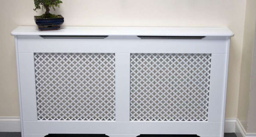Radiator Cover Satin White Old England Classic Design