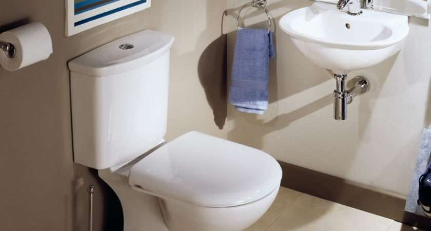 Range White Bathroom Cloakroom Suite Basin Sink