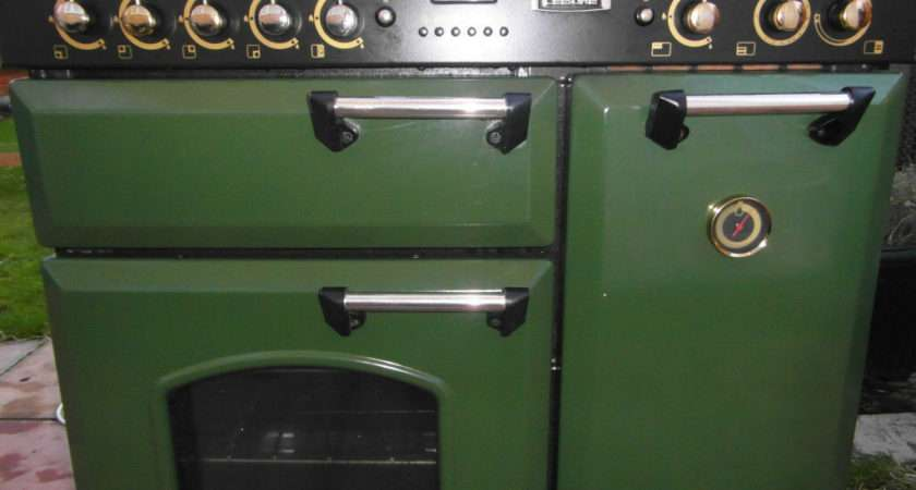 Rangemaster Leisure Classic Green Gas Electric Range Cooker