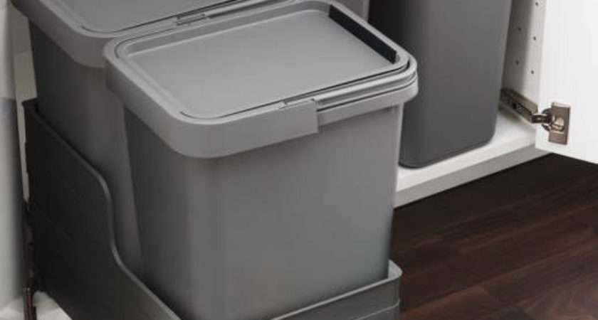 Rationell Waste Sorting Bins Pull Out Drawer Ikea