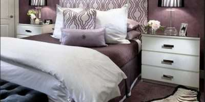 Ravishing Purple Bedroom Designs Decoration House