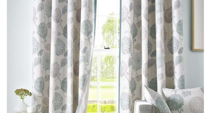 Ready Made Eyelet Curtains Duck Egg Blue Functionalities