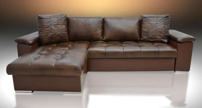 Real Leather Sofa Beds Modern Sofas Couches