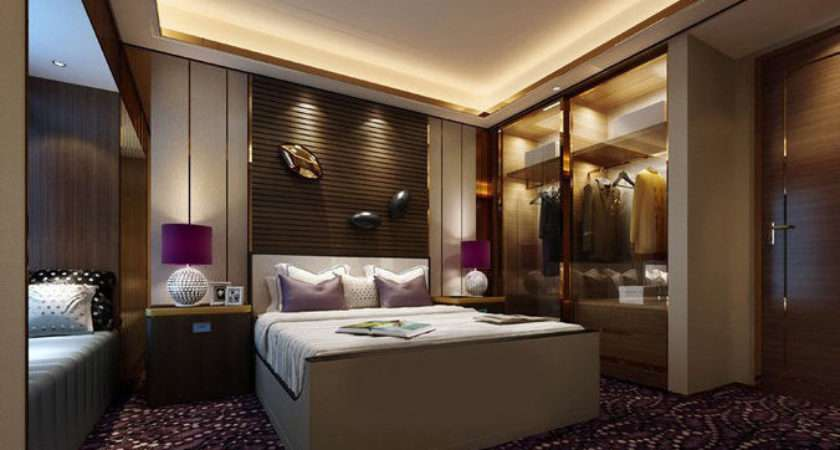 Realistic Hotel Room Design Cgtrader