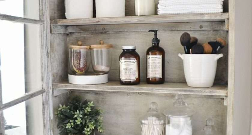 Really Clever Bathroom Storage Ideas