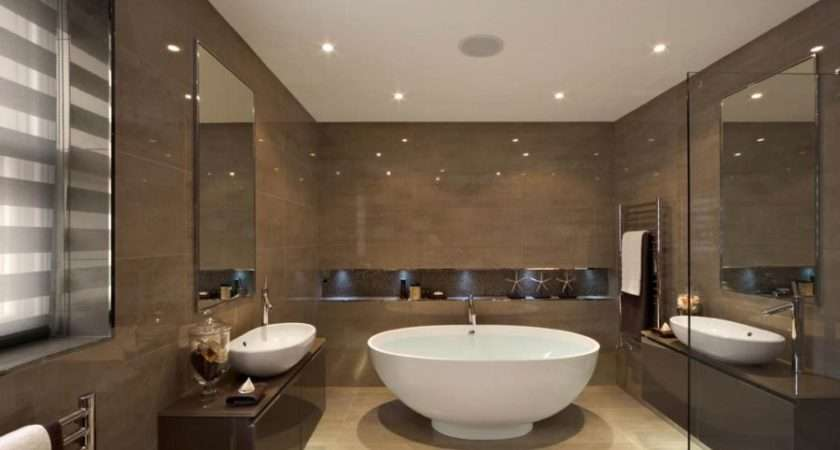 Recessed Ceiling Lights Modern Bathroom