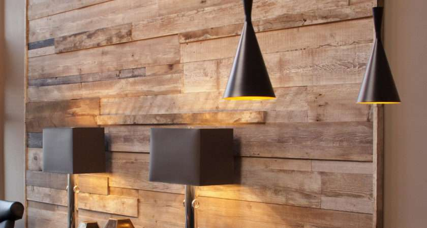 Reclaimed Feature Wall Madera