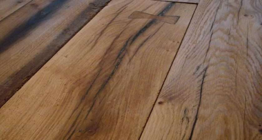 Reclaimed Professionally Repaired French Oak Flooring Absolutely