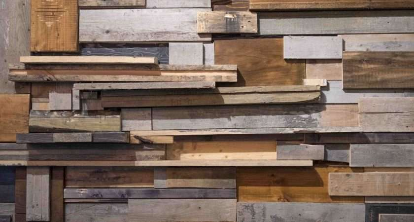 Reclaimed Wood Walls Eco Friendly Chic Floor Store