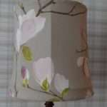 Recover Lined Fabric Lampshade Thestitchsharer