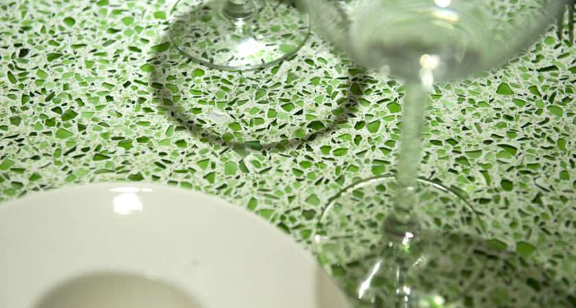 Recycled Glass Worktops Source