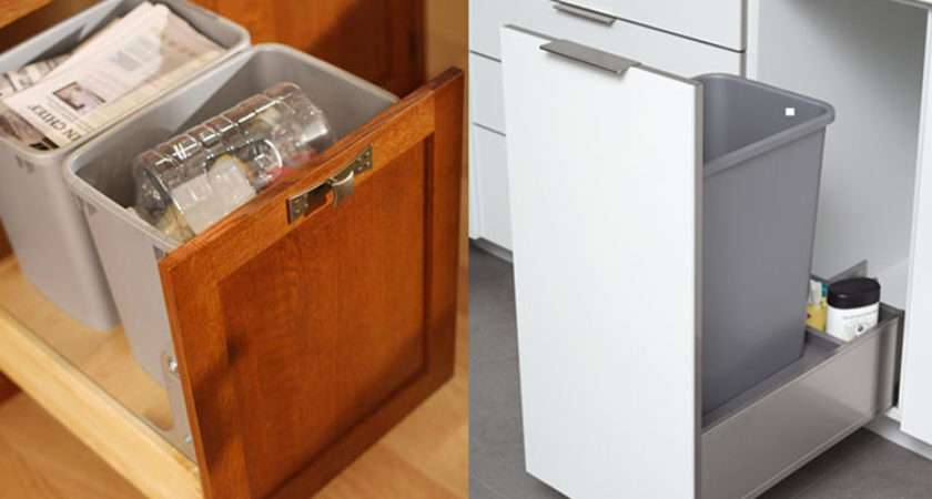 Recycling Bins Fact Our Most Popular Kitchen Cabinet