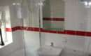 Red Border Tile Granite Floor Tiles Series Bathroom Suite