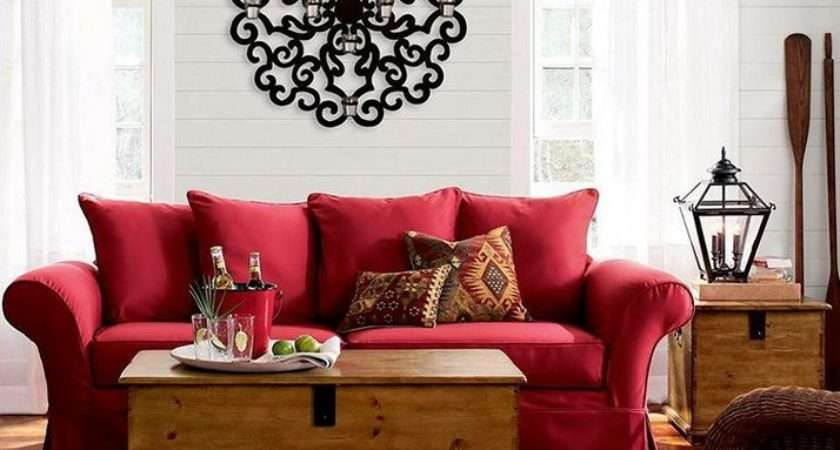 Red Couch Living Room Attractive Ideas
