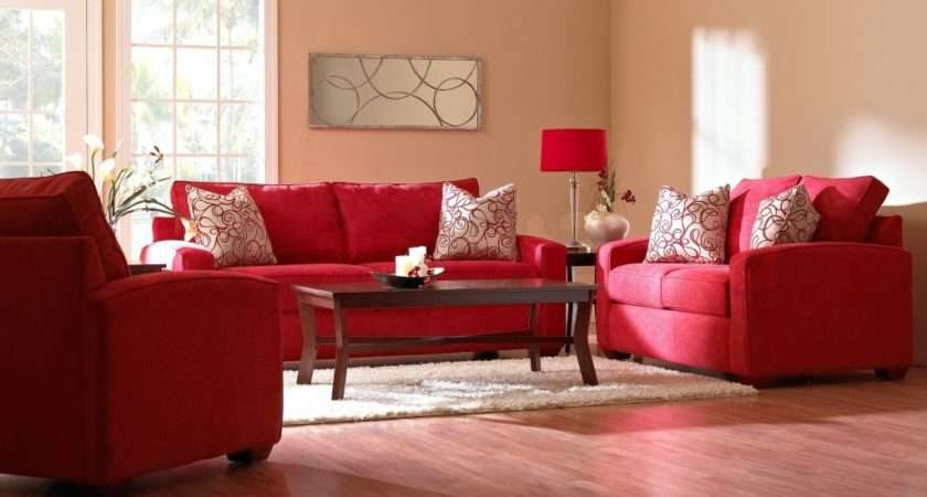 Red Couch Living Room Cool Achados Decorao Blog