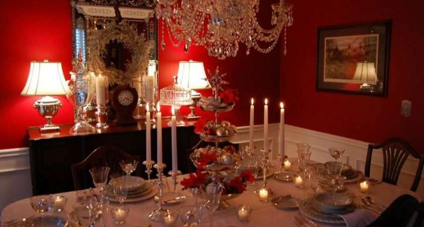 Red Dining Room Decorating Ideas House Design