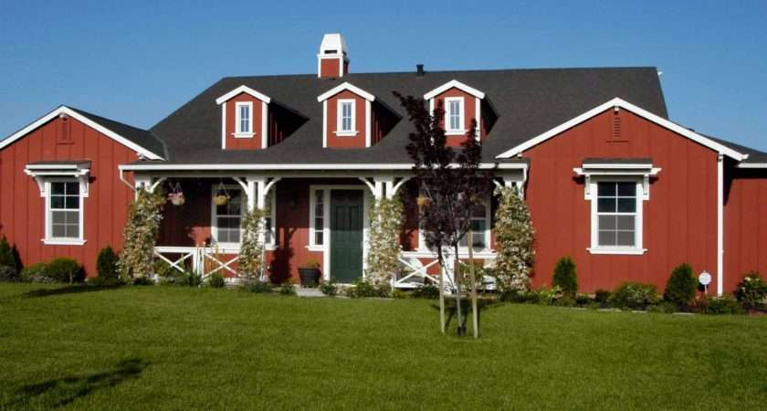 Red Exterior Photos Hgtv