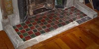 Red Green Tile Hearth Inspiration Spartanette Royal
