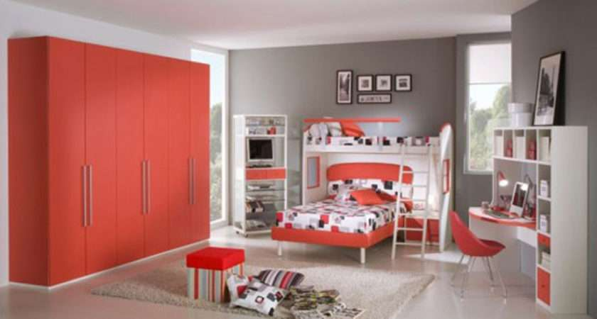 Red Passion Teen Room Color Scheme One Total Snapshots