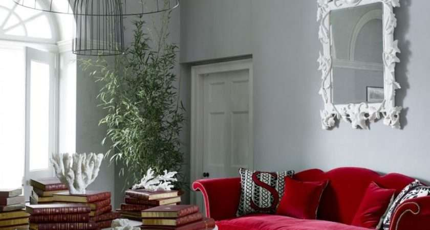 Red Sofa Living Room Ideas Couch