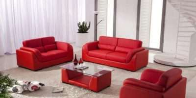 Red Sofa Living Room Ideas Modern