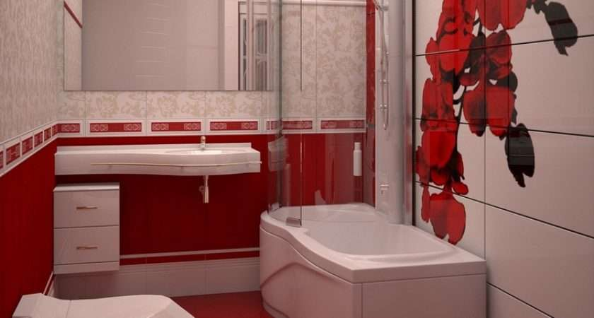 Red White Bathroom Decor Tips Your Home