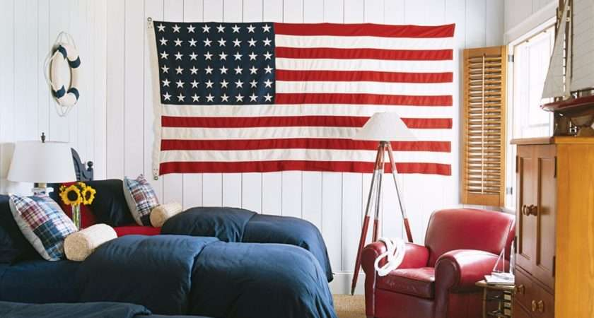 Red White Blue Bedroom Xln
