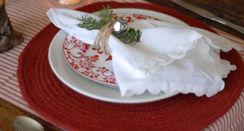 Red White Christmas Table Sweetest Occasion