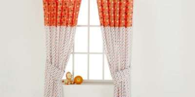 Redkite Nursery Interiors Tab Top Curtains Cotton Tail
