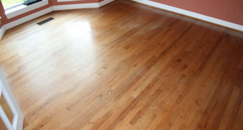 Refinish Hardwood Floors Time Required