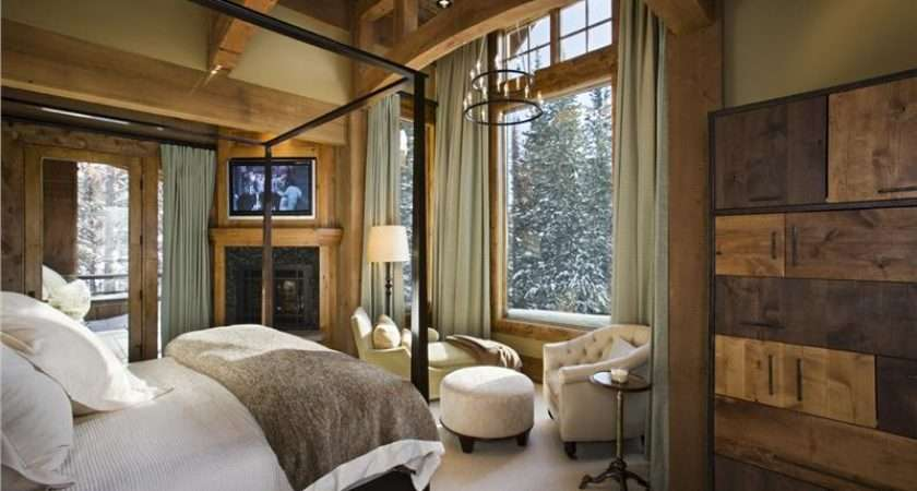 Relaxing Country Rustic Bedroom Jerry Locati