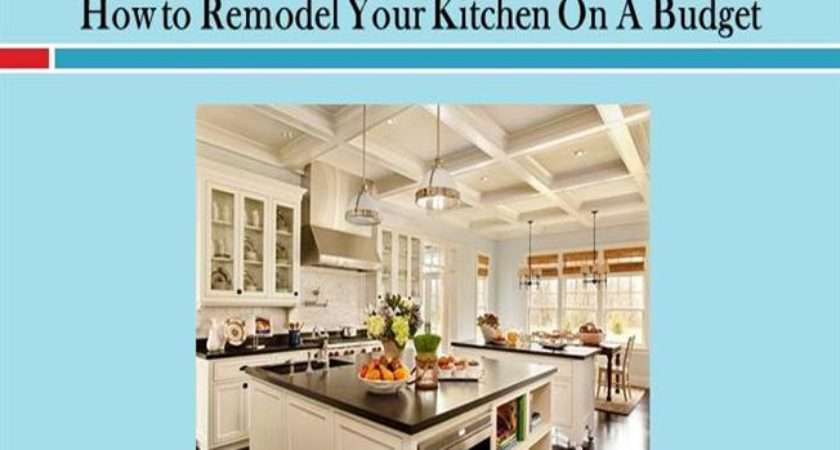 Remodel Your Kitchen Budget Authorstream