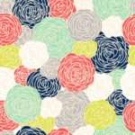 Removable Blossom Print Multi