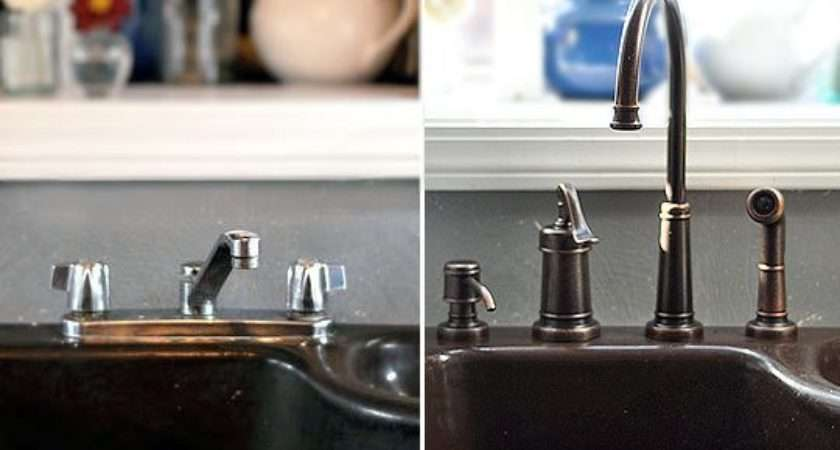 Remove Replace Kitchen Faucet