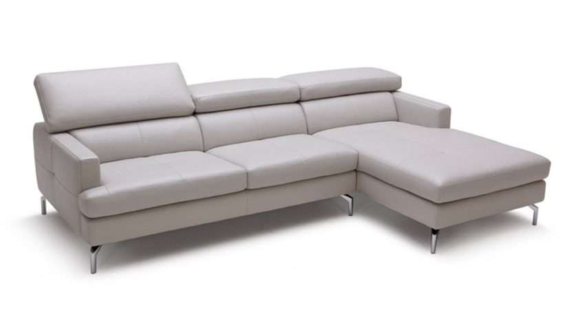 Renzo Leather Corner Sofa Small Highest Quality