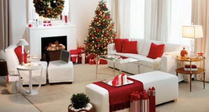 Repairs Decorate Christmas Living Room