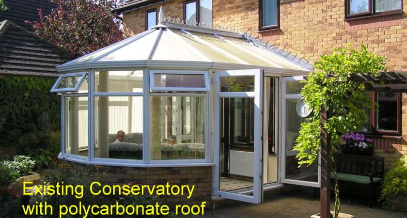Replace Polycarbonate Conservatory Roof Glass Just