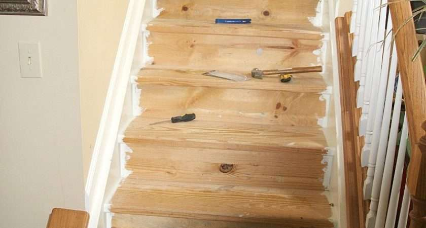 Replacing Carpet Stairs Hardwood Cost Modern Style