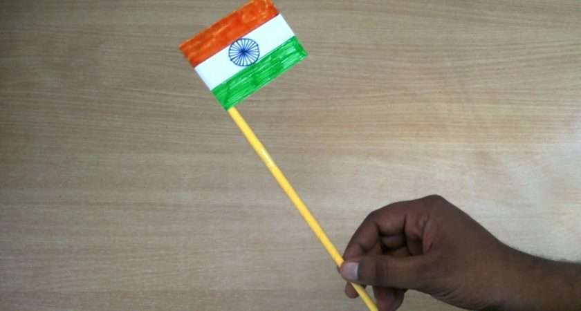 Republic Day Crafts Make Indian Flag Youtube