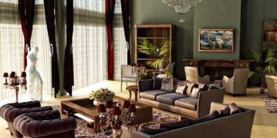 Retro Style Living Rooms Room Vintage Design